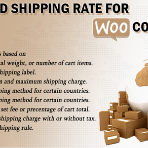 Cart Based Shipping Rate For WooCommerce