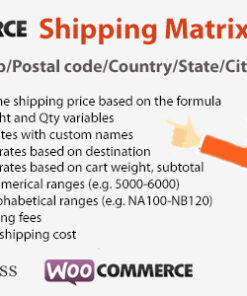 WooCommerce Shipping Matrix Rate
