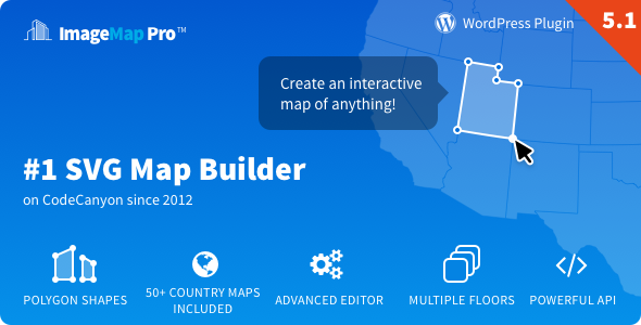 Image Map Pro for WordPress - SVG Map Builder