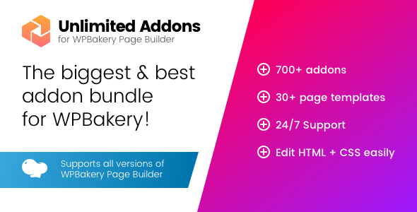 Unlimited Addons for WPBakery Page Builder (Visual Composer)