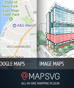 MapSVG: Interactive Vector maps / Image maps / Google maps - WordPress plugin