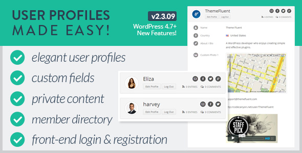 User Profiles Made Easy - WordPress Plugin