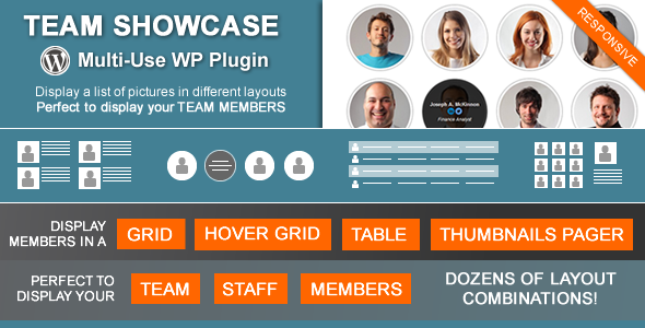 Team Showcase - Wordpress Plugin