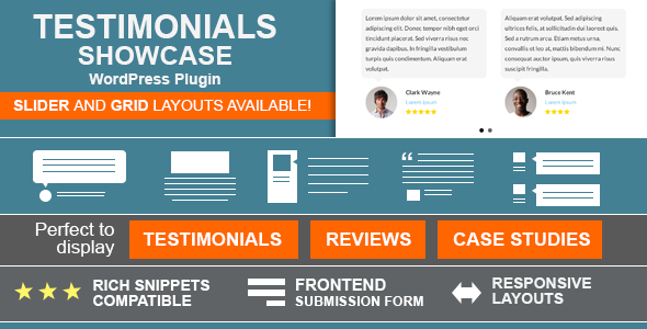 Testimonials Showcase - WordPress Plugin