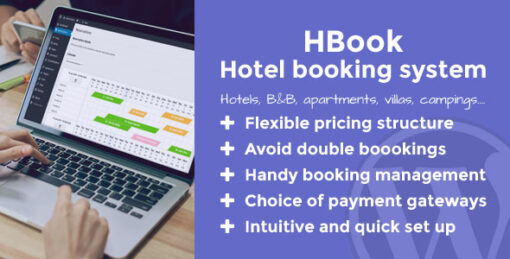 HBook - Hotel booking system - WordPress Plugin