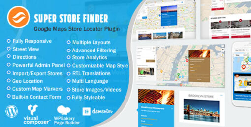 Super Store Finder for WordPress (Google Maps Store Locator)