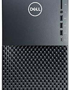 Dell XPS 8940 Tower Desktop Computer - 10th Gen Intel Core i7-10700 8-Core up to 4.80 GHz CPU, 64GB DDR4 RAM, 2TB SSD + 4TB Hard Drive, Intel UHD Graphics 630, DVD Burner, Windows 10 Home, Black