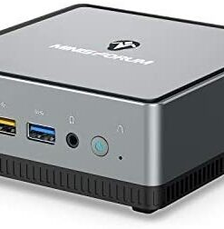 DMAF5 Mini PC AMD Ryzen 5 3550H 4C/8T Windows 10 Pro Desktop Computer, DDR4 16G RAM+512G SSD, HDMI/DP/USB-C 4K@60Hz Output, 2X RJ45 Port, 4X USB3.0 Port, WIFI6 AX200 BT5.1, Radeon Vega 8 Graphics