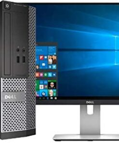 Dell Optiplex 3020 Desktop Computer, Intel Quad-Core i5-4570 Up to 3.6GHz, 16 GB RAM, 2TB +256GB SSD HDD,USB 3.0, WiFi, HDMI, HDMI 22