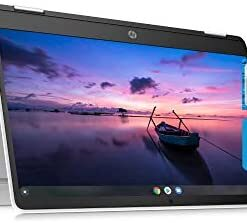 HP Chromebook x360 14a Laptop - Dual Core Intel Celeron N4020 - 4 GB RAM - 32 GB eMMC Storage - 14-inch HD Touchscreen - Google Chrome OS - Lightweight and Long Battery Life (14a-ca0020nr, 2020)