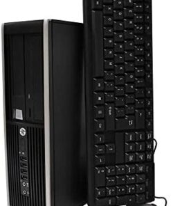 HP Flagship Pro Desktop 2018 Computer, Core I5 Up to 3.6GHz, 8GB, 512GB SSD, WiFi, DVD, DP, VGA, USB 3.0, Windows 10 Pro 64 Bit-Multi Language-English/Spanish/French(CI5) (Renewed)