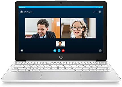 HP Stream 11.6-inch HD Laptop, Intel Celeron N4000, 4 GB RAM, 32 GB eMMC, Windows 10 Home in S Mode with Office 365 Personal for 1 Year (11-ak0020nr, Diamond White)