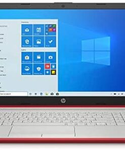 Newest HP Pavilion Intel Pentium Silver N5000 4GB 128GB SSD Windows 10 Laptop Red