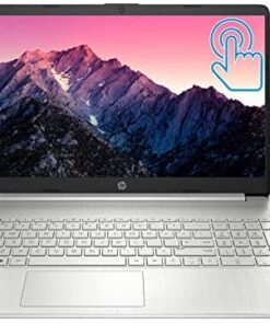 "2021 Newest HP Pavilion Laptop, 15.6"" HD Touchscreen, AMD Ryzen 3 3250U Processor (Beats i7-7500U), 8GB RAM, 256GB SSD, Backlit Keyboard, Compact Design, Long Battery Life, Windows 10 + Oydisen Cloth"
