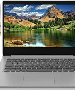 "2021 Newest Lenovo IdeaPad 3 14"" FHD Screen Laptop Computer, Intel Quad-Core i5-1035G1 Up to 3.6GHz (Beats i7-8550U), 12GB DDR4 RAM, 512GB PCI-e SSD, Webcam, WiFi, HDMI, Windows 10 + Marxsol Cables"