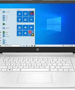 """HP 14-fq0032ms Laptop for Business and Student, 14"""" LED Touchscreen, AMD Ryzen 3 3250U Processor(up to 3.5 GHz), 8GB RAM, 128GB SSD, Webcam, WiFi, Ethernet, HDMI, USB-A&C, Win10"""