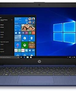"HP Stream 14"" HD WLED-backlit Laptop, Intel Celeron N4000, 4GB DDR4, 64GB eMMC, WiFi, Bluetooth, Webcam, HDMI, Windows 10 S, Microsoft Office 365 and 1TB OneDrive Cloud Storage, 64GB ABYS MicroSD Card"