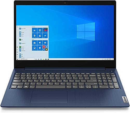 "Lenovo IdeaPad 3 15.6"" HD High Performance Laptop, Intel Core i5-1035G1 Quad-Core Processor, 8GB Memory, 256GB SSD, HDMI, Webcam, Wi-FI, Windows 10"