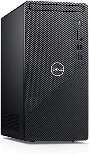 2021 Newest Flagship Dell Inspiron 3880 Desktop Computer 10th Gen Intel Quad-Core i3-10100 (Beats i5-8400) 12GB DDR4 256GB SSD 1TB HDD NO-DVD Intel UHD Graphics 630, Business, Windows 10 Pro