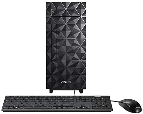 ASUS Desktop S300, Intel Core i5-10400 Processor, 16GB DDR4 RAM, 512GB PCIe SSD, DVD Drive, Windows 10 Home, Wired Keyboard & Mouse Included, Black, S300MA-DH501