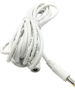 Extension Power Cord Replacement for 15W Alexa Dot 3rd Gen, Dot 4th Gen, Show 5 and TV Cube, 10ft Long Cable White