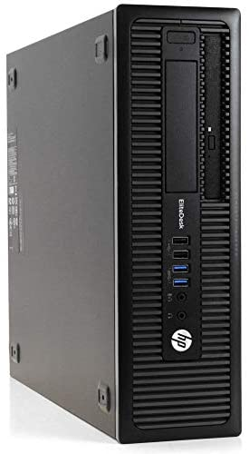 HP EliteDesk 800 G1 Desktop, Intel Core i7 4770 3.4Ghz, 32GB DDR3 RAM, 1TB SSD Hard Drive, USB 3.0, DVDRW, Windows 10 Pro (Renewed)
