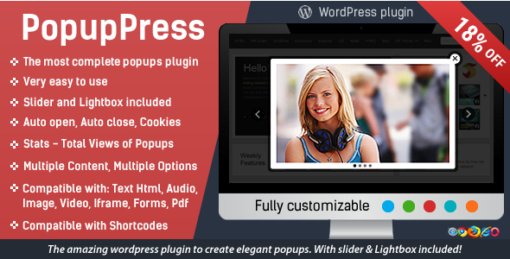 Popup Plugin for WordPress - Popup Press - Popups Slider & Lightbox