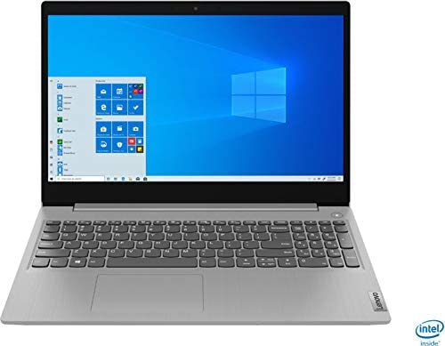 """2020 Powerful Lenovo IdeaPad 15.6"""" FHD Non-Touch Screen Laptop, 10th Gen Intel Core i3-1005G1 up to 3.40GHz, 8GB RAM, 256GB PCIe SSD, Dolby Audio, Webcam, Windows 10S, Aloha Bundle, Grey"""