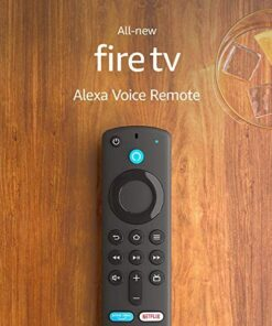Alexa Voice Remote (3rd Gen) with TV controls   Requires compatible Fire TV device   2021 release