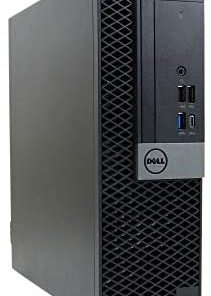 Dell Optiplex 7050 SFF Desktop PC Intel i7-7700 4-Cores 3.60GHz 16GB DDR4 1TB M.2 NVMe SSD WiFi BT HDMI Duel Monitor Support Windows 10 Pro Excellent Condition(Renewed)