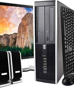 """HP Desktop Core 2 Duo 2.6GHz - New 4GB Memory - 500GB HDD - Windows 10 Home Edition - 19"""" Generic Monitor, NEW Keyboard, Mouse, WiFi Sold (Renewed)"""