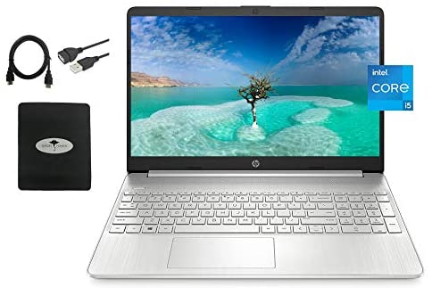 2021 Newest HP 15.6 FHD IPS Flagship Laptop, 11th Gen Intel 4-Core i5-1135G7(Up to 4.2GHz, Beat i7-1060G7), Iris Xe Graphics, Fast Charge, WiFi, Lightweight, w/GM Accessories (16GB RAM I 512GB SSD)
