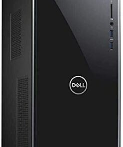 Dell Inspiron 3671 Windows 10 Pro Business Desktop Computer_ Intel Quad-Core i3-9100 up to 4.2GHz_ 64GB DDR4 RAM_ 2TB PCIe SSD + 1TB HDD_ WiFi_ Bluetooth_ USB 3.1_ VGA_ HDMI_ Keyboard and Mouse