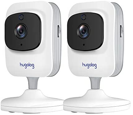 Security Cameras for Home Security, WiFi Camera 1080P, Indoor Cameras with Motion Detection, Works with Alexa,2-Way Audio, USA Cloud Storage & SD Slot